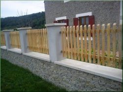Locust fences, fence elements
