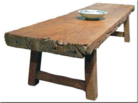 Termékek antik faanyagokból