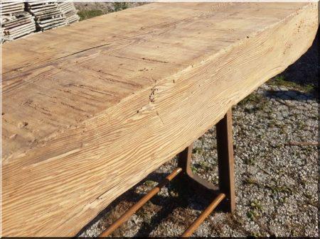 Loft bárasztal