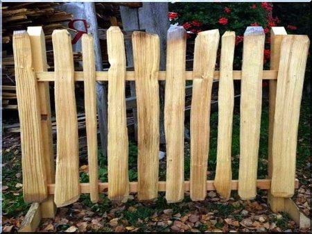 Rusztikus fakerítések -