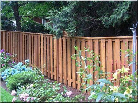 1 meter long pine fence element
