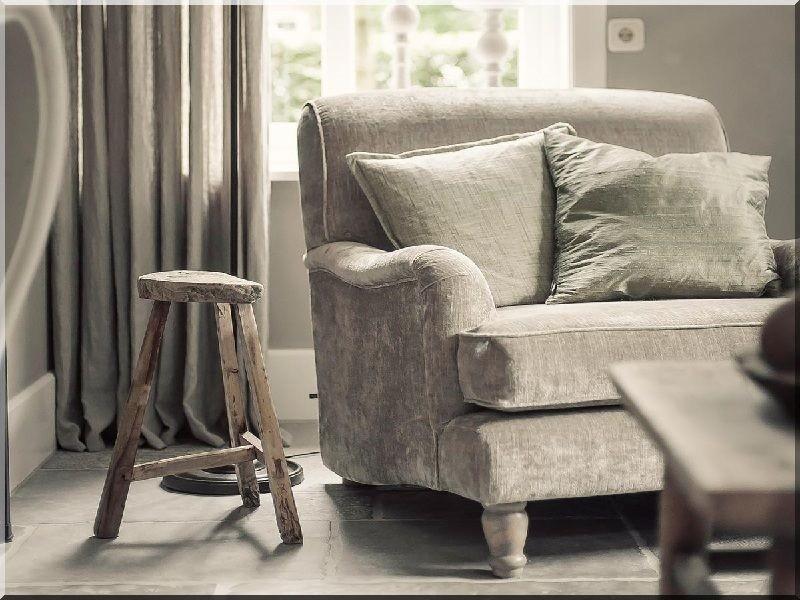 Vidéki, romantikus nappali - Industrial loft furniture, Garden ...