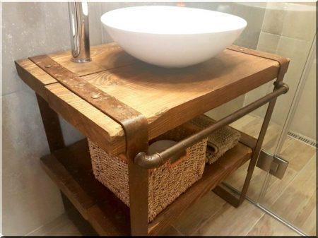 Fürdőszobapult -