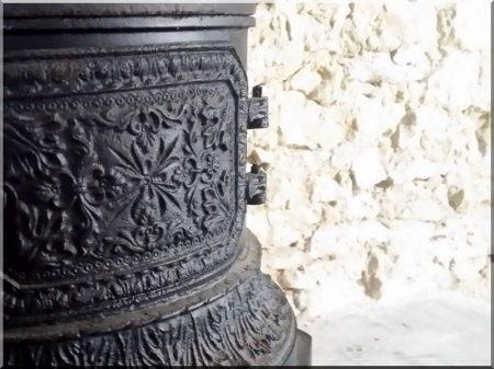 Szecessziós antik kályha