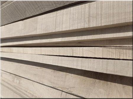 Wood decoration, alder slats