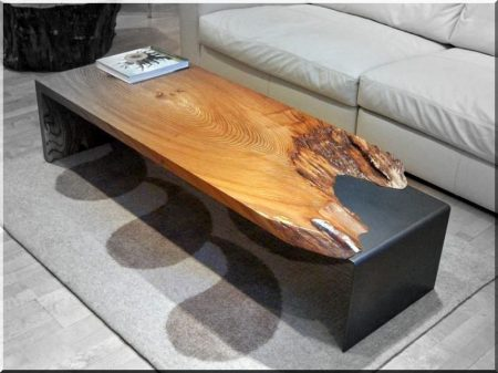 Rustic oak table top