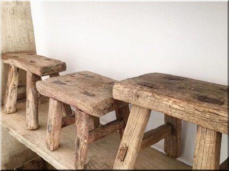 Egyedi, rusztikus fa bútor -