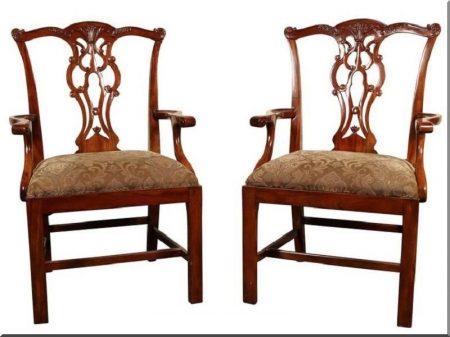 Chippendale székek -