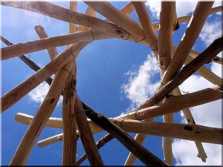 2,5 meters acacia pole