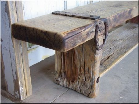 Natural wood design