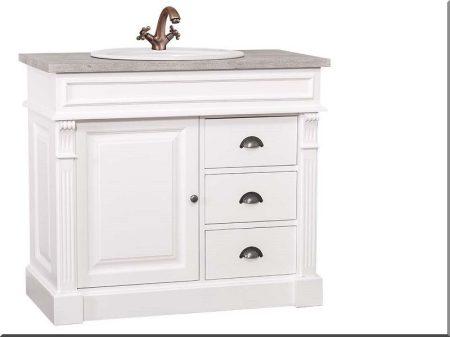 Fenyő fürdőszobabútor