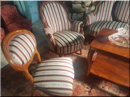 Bieder szekrények, székek