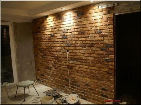 Construction of brick coverings