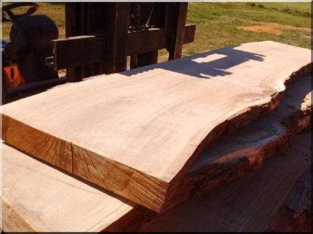 Artwork of dried oak planks