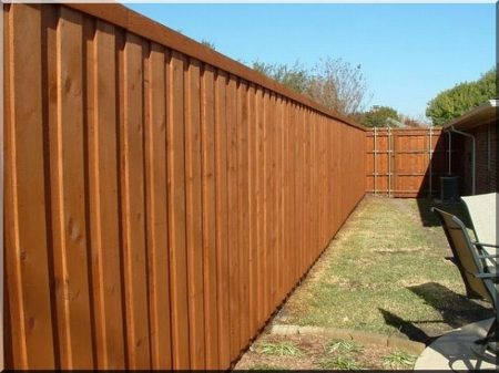 2 meters planed pine plank, fence element