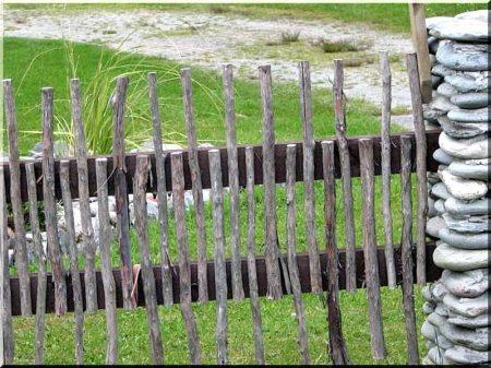 Branche clôture, zulu, 2 - 3 cm