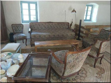 Canapé néo-baroque