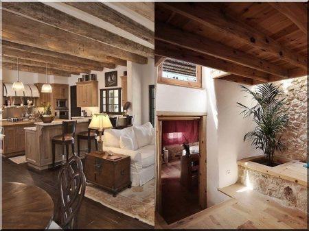 Lakásfelújítási ötletek, rusztikus design