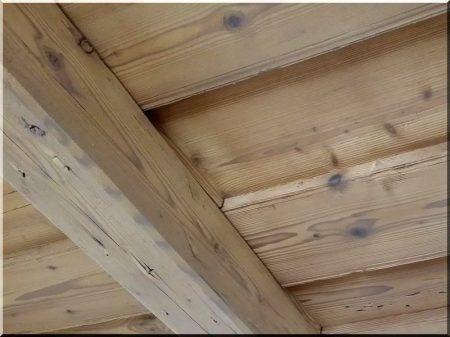 Renovierung von Holzplatten