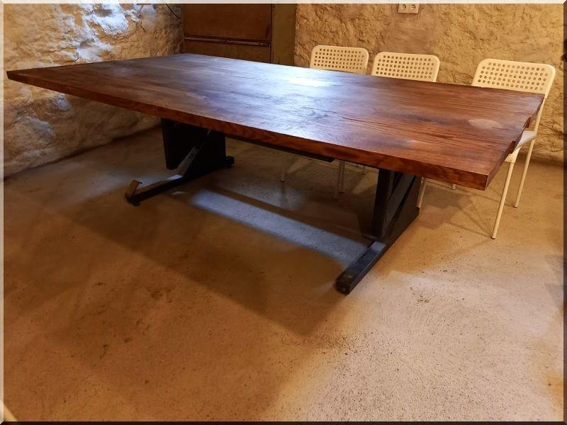 loft design asztal