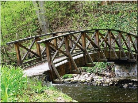 Fa híd -