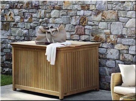 Garden wooden box