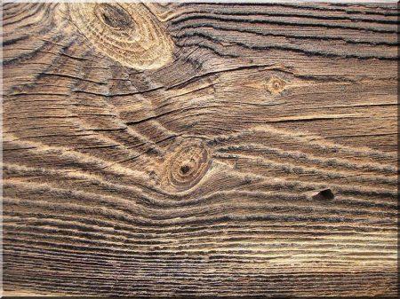 Fűrészelt antik deszka dekor