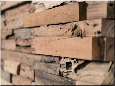 DIY zersetztes Holz