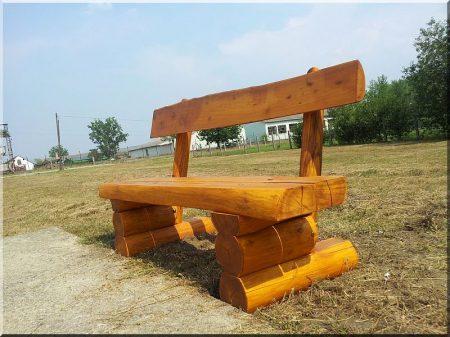 Holzbank Robinie