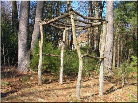 4 - 6 cm diameter acacia post
