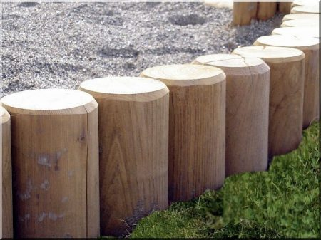 12 cm round milled locust post