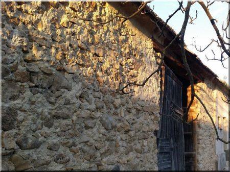 Kő fal -