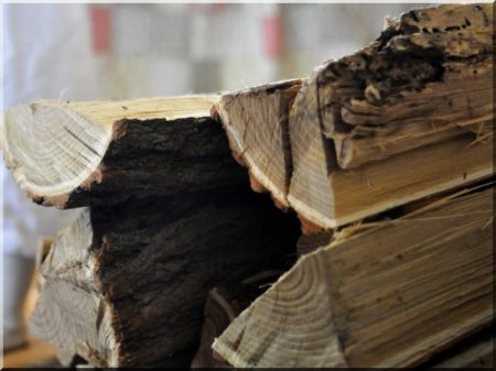 Gemischtes Brennholz