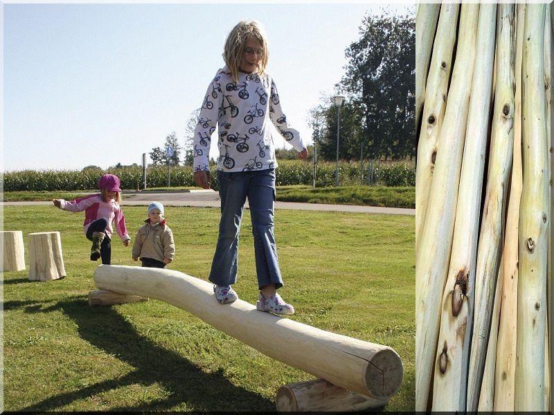 kerti játék és kerti fa termékek, támfalak, akác oszlopok