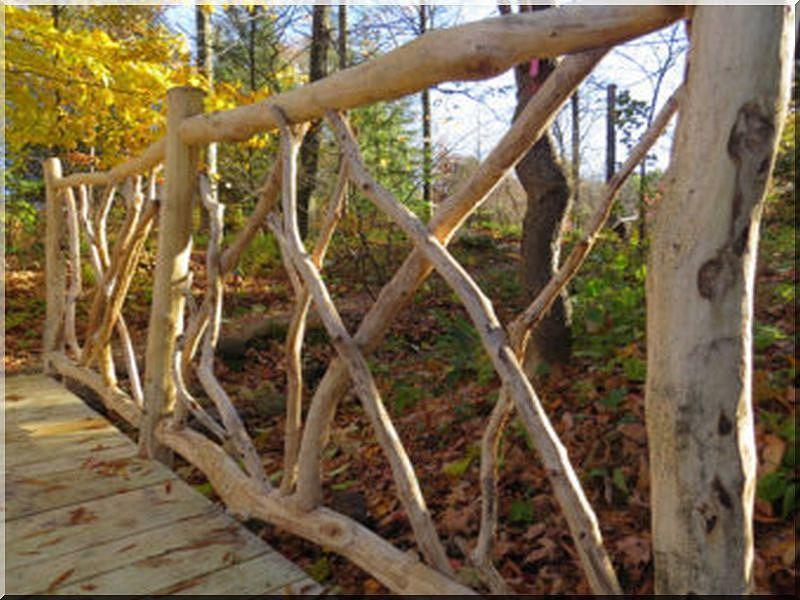 Einzigartige Holz Zaun Aus Zweigen Holzzaun Aus Zweigen Natur