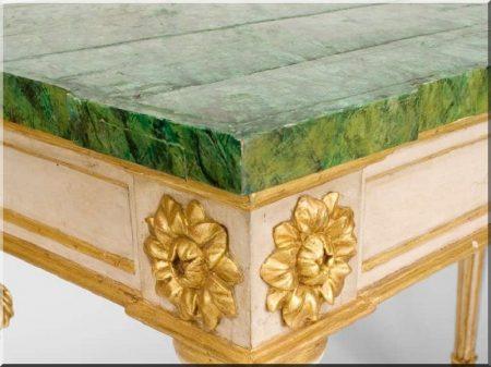 Itáliai barokk bútorok -