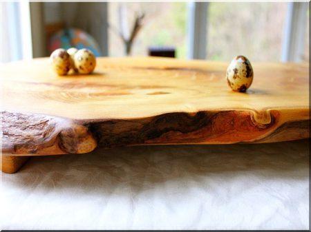 Rustic acacia boards
