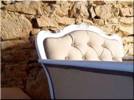 Fotel, neobarokk -