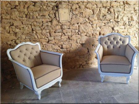 Neo-Baroque Seating Set