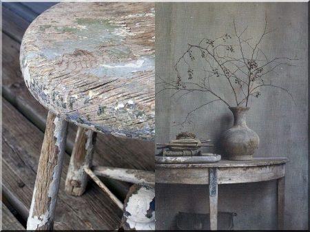 Rusztikus design bútor -