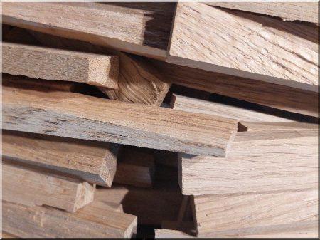 Holzwand, gespaltet, Massivholz