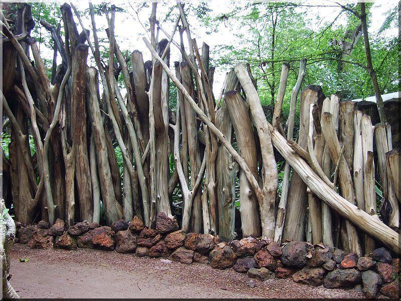 Zulu fakerítés