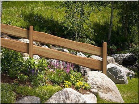 Linden fence plank