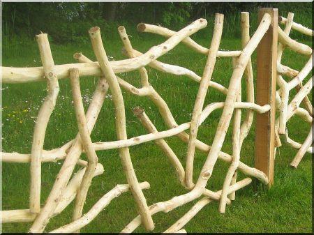 Branche clôture, zulu, 4 - 6 cm