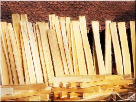 Unedged Acacia Plank