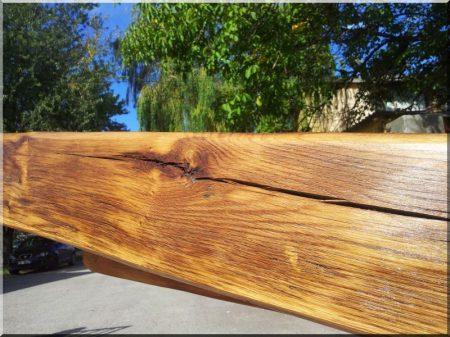 Rénovation de poutre en bois