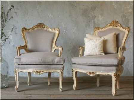 Vintage furniture, armchair