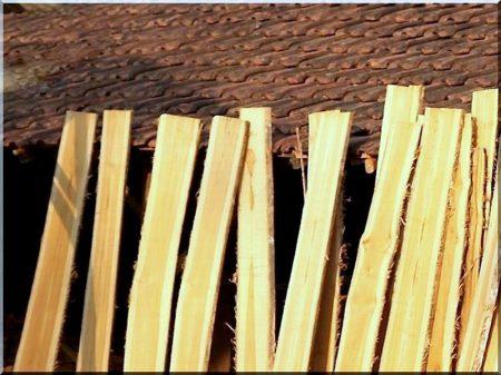 Akác deszka kerítésépítéshez (keskeny)
