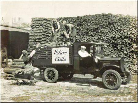 Tűzifa házhoz szállítás -