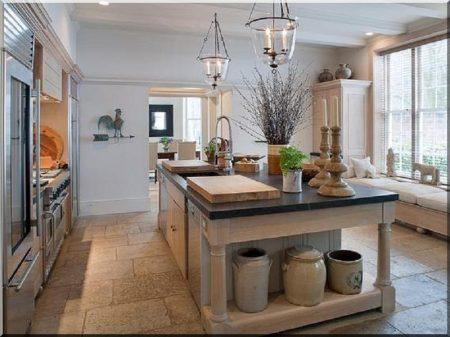 Shabby chic, vintage kitchen
